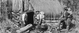 Asbestos Miners, Upper Takaka NZ. Nelson Provincial Museum, Tyree Studio Collection: 54950